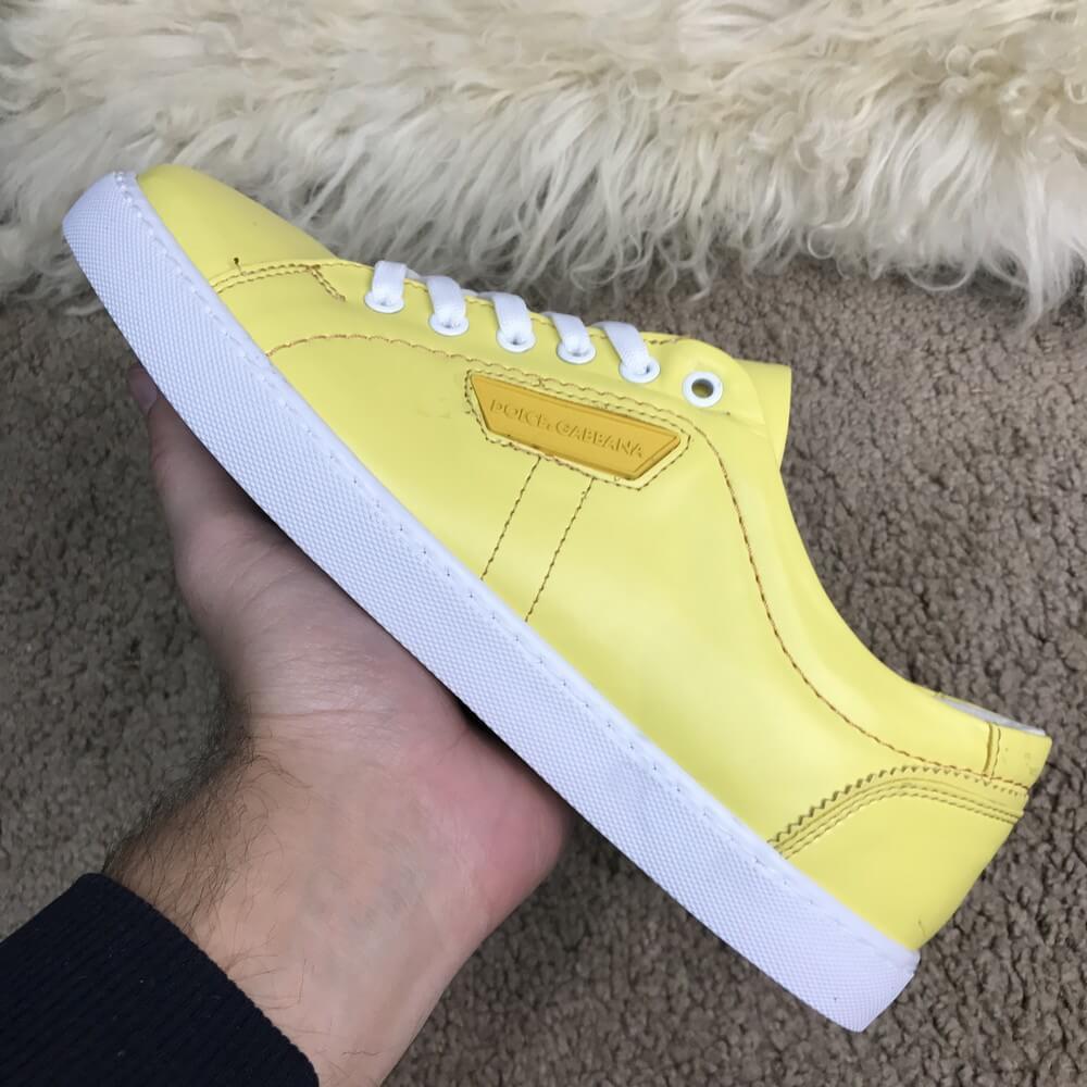 Мужские кроссовки Dolce & Gabbana 40, 42 London Yellow
