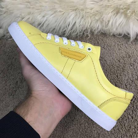 Мужские кроссовки Dolce & Gabbana 40, 42 London Yellow, фото 2