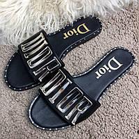 Dior Slide Sandal Dio(R)Evolution Mule Black