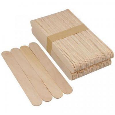Шпатели деревянные для депиляции 100 шт