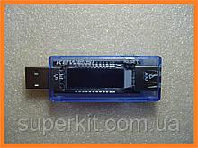 Измеритель силы тока и напряжения USB тестер амперметр вольтметр