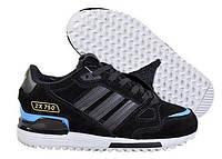 """Кроссовки зимние Adidas ZX 750 """"Black/Blue"""" С МЕХОМ Арт. 2399"""