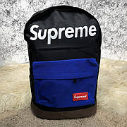 Городской рюкзак Supreme Combat Black/Blue