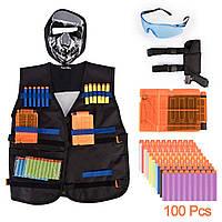 Тактический жилет для  оружия нерф ,nerf  elite, фото 1