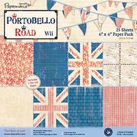 Набор бумаги для кардмейкинга и скрапбукинга 15*15 Portobello Road PMA 160114