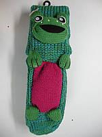 Носки с 3-Д игрушкой детские подарочные