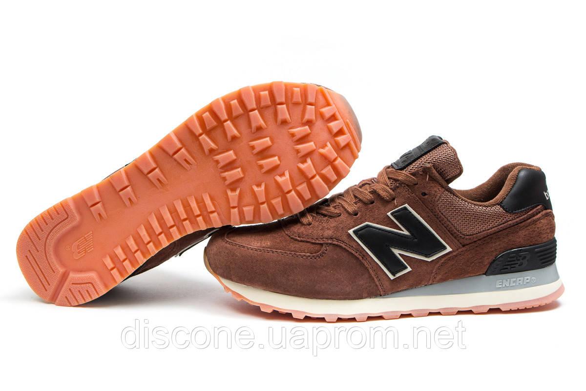 Кроссовки мужские ► New Balance 574, коричневые (14106), р.  [  44 (последняя пара)  ] ✅Скидка 33% ✔ЧеРнАяПяТнИцА