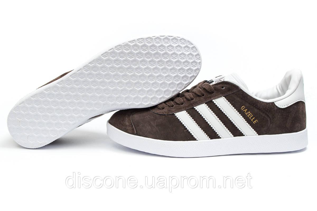 Кроссовки мужские ► Adidas Gazelle, коричневые (14132), р.  [  41 43 44  ] ✅Скидка 31% ✔ЧеРнАяПяТнИцА