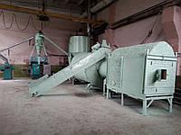 Пуско-наладка, обучение, монтаж сушки барабанного типа АВМ 0-65