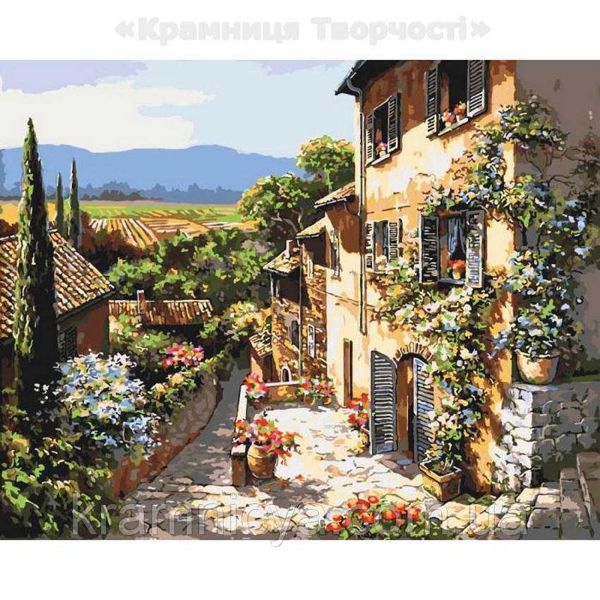 Картина по номерам Пейзажи Тосканы, 40х50 (КНО2232)