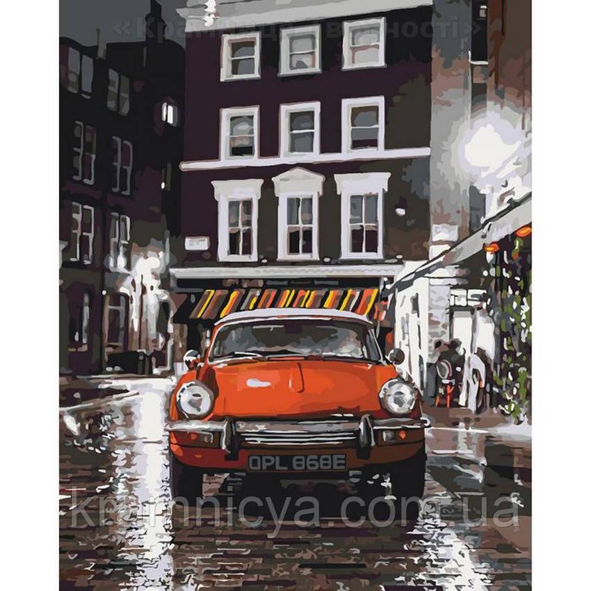 Картины по номерам Итальянский автомобильчик, 40х50 (КНО3512)