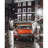 Картины по номерам Итальянский автомобильчик, 40х50 (КНО3512), фото 1