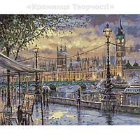Картины по номерам Вечерний Лондон, 40х50 (КНО3513), фото 1