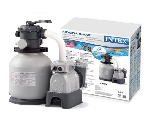 Intex 28646 песочный фильтр насос 6000 л/ч