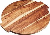 Доска Lazy Susan деревянная сервировочная вращающаяся KitchenCraft Master Class Artesa 39x35х1.5 см