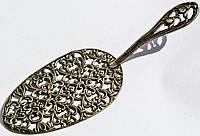 Восхитительная лопатка для торта и десертов,Ландыши! Германия! Серебро,800.
