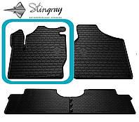 SEAT Alhambra I 1996- Водительский коврик Черный в салон