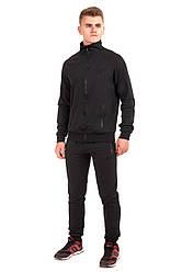 Мужской спортивный костюм черного цвета бренда Atletic от производителя AV Sportswear