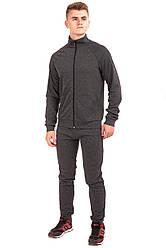 Мужской спортивный костюм серого цвета бренда Atletic от производителя AV Sportswear