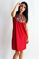 Сарафан женский chen бордо