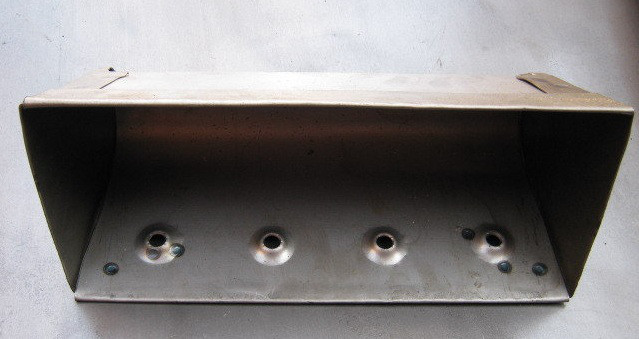 Цельногнутый норийный ковш 380 мм