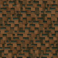 Битумная гибкая черепица, SHINGLAS, серия Классик, коллекция Кадриль, цвет  Аккорд-миндаль