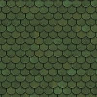 Битумная гибкая черепица, SHINGLAS, серия Классик, коллекция Танго, цвет  Зеленый