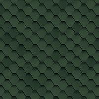 Битумная гибкая черепица, SHINGLAS, серия Ультра, коллекция Самба, цвет Зеленый