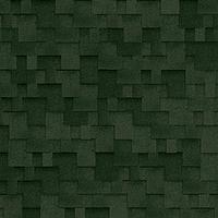 Битумная гибкая черепица, SHINGLAS, серия Ультра, коллекция Джайв, цвет Зеленый