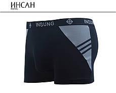 Мужские боксеры стрейчевые Марка «ИНСАН» Арт.INS-128, фото 2