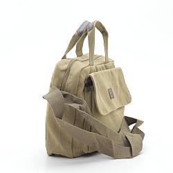Мужская сумка цвета хаки