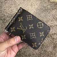 Мужской кошелек Louis Vuitton Gaspar Wallet Monogram, Копия, фото 1