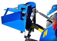 Измельчитель веток+дровокол к минитрактору (односторонняя заточка ножей)