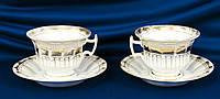 Две чайные пары, фарфор, позолота, Германия, фото 1