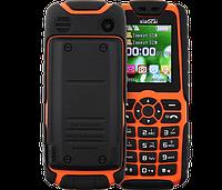 Противоударный телефон с мощной батареей! Xiaocai X6 - фонарик, FM, MP3/MP4, 2 SIM, 5000 mAh.