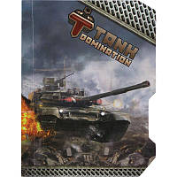 Блокнот Tanks Domination, 60 листов, А6 TD15-223K