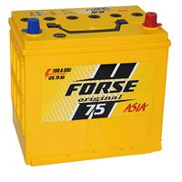 Автомобильные аккумуляторы FORSE JP 6CT-75A2 700A R MF (N50) нижнее крепление