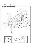 Ремкомплект двигателя А78016 комбайн CASE Кейс 2388