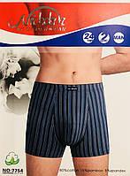 Трусы мужские боксёры хлопок + бамбук Nickdan размер L-3XL(46-56) 7754