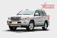 Защита переднего бампера труба d100 Союз 96 на Toyota Land Cruiser 200 2012-2013