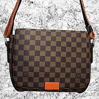 Мужская сумка Louis Vuitton District MM Damier Ebene, Копия