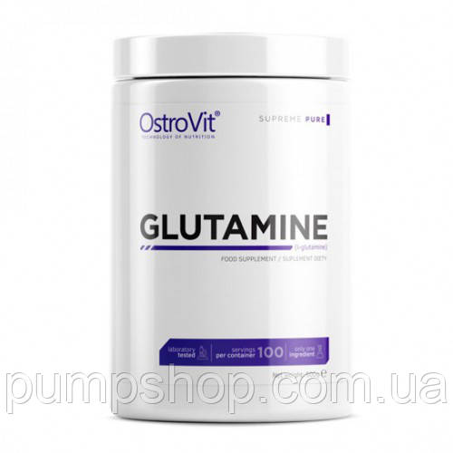 Глютамін Ostrovit Glutamine 500 г