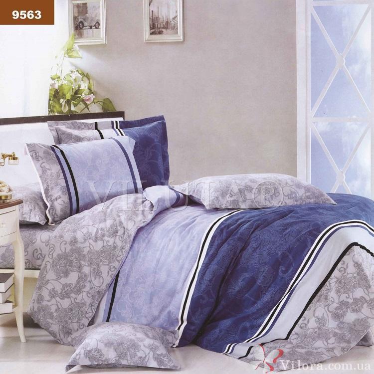Двуспальное постельное белье Вилюта 9563