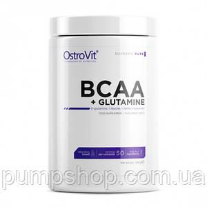 Бцаа+глютамін OstroVit BCAA+L-Glutamine 500 грам