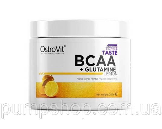 Бцаа Ostrovit BCAA+L-Glutamine 200 грам, фото 2