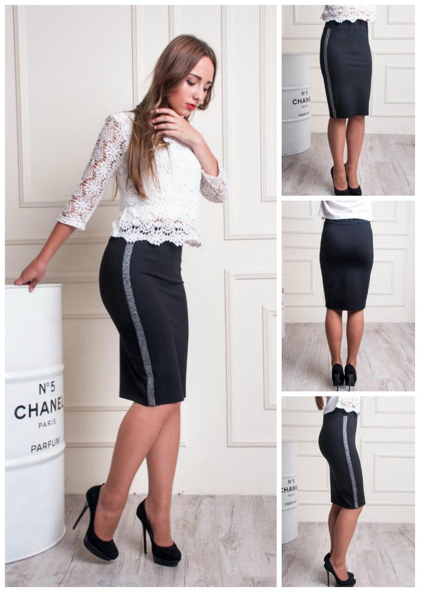 5a09deea4c3 Женская стильная юбка карандаш. 48-52  продажа