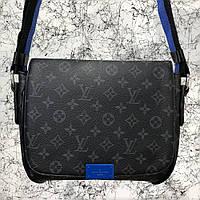 Мужская сумка Louis Vuitton District MM Monogram Eclipse Копия