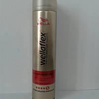 Лак для волос Wellaflex 250 мл. (Велла для горячей укладки №5)