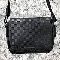 Мужская сумка Louis Vuitton District MM Damier Infini Копия