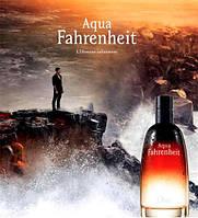 Мужская туалетная вода Dior Aqua Fahrenheit 100ml (изысканный, мужественный аромат)